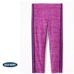 NWT Old Navy Cropped Berry Pink Leggings L (10-12)